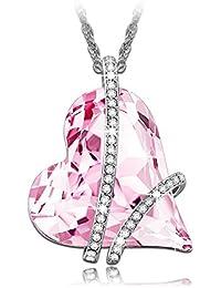 Lady colour - Promesa - Collar mujer con cristales de Swarovski - la coleccion Corazon de Cristal