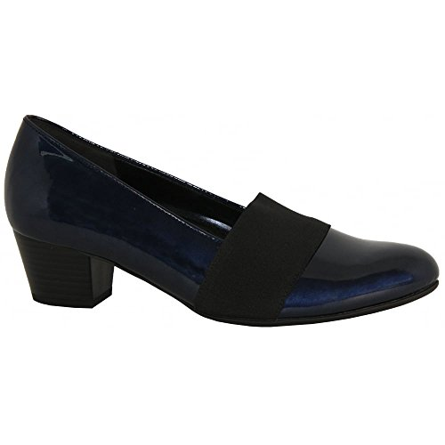 Gabor Shoes Comfort Fashion, Scarpe con Tacco Donna NVY PATENT