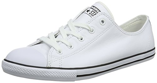 Converse Damen Ct Dainty Ox Blk Fitnessschuhe - Weiß (White 100) , 37.5 EU