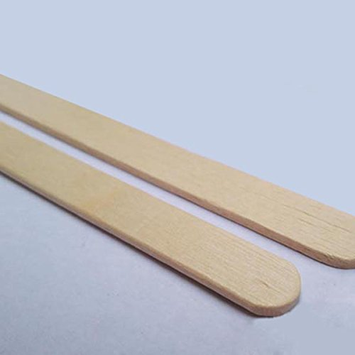 SODIAL R  150 x 19 mm Jumbo Lollipop Sticks  Wood color
