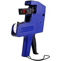 MX-5500 8 Dígitos Pistola de Etiqueta de Precio Máquina de Etiquetas de Precios de 8 Dígitos para Oficina, Tiendas(Azul)