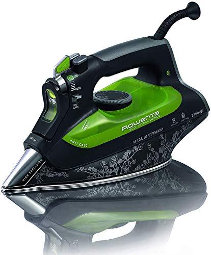 Rowenta Eco Intelligence Plancha A Vapor DW6010D1 2400W, 2400 W, 0.3, Negro, Verde