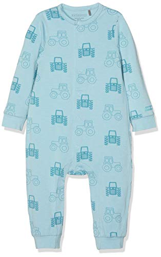 Bellybutton Kids Unisex Baby Overall 1/1 Arm Strampler, Blau (Petit Four|Cyan 3640), 62