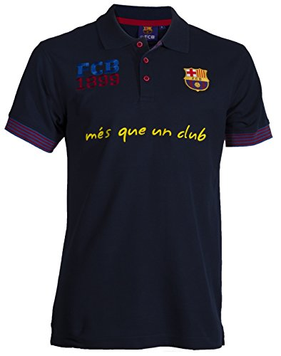 Fc Barcelone Polo Barça - Collection Officielle Taille Adulte Homme