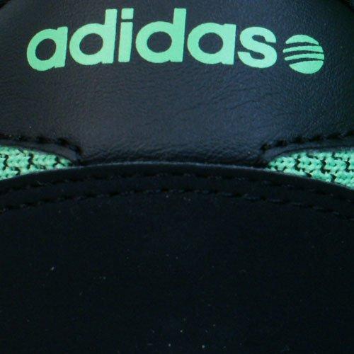 adidas V Racer, derby homme Noir/vert