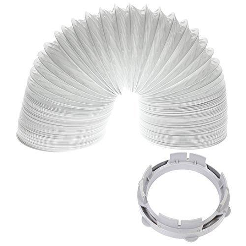 """White Knight / Crosslee Kit Secadora de ropa manguera de ventilación del condensador del adaptador (4m / 4 \"""")"""