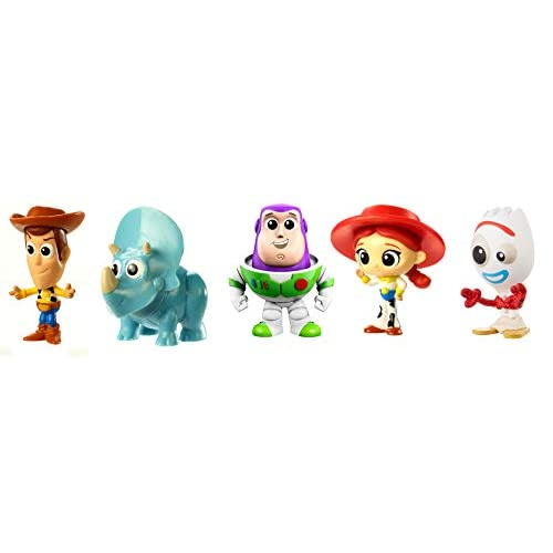 Disney Toy Story 4 Pack de 5 Mini Figuras de la Película, Juguetes Niños +3 Años (Mattel GDL64) 10