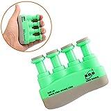 ekugo (TM) grün Tragbare Gitarre Bass Piano Hand und Finger Fingertrainer für Gitarristen Trainer Top Qualität