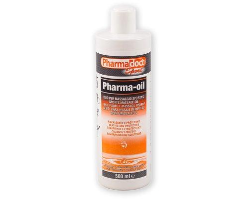 Olio riscaldante canforato 500 ml pharmadoct pharma oil massaggio sportivo sport PDT04
