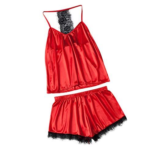 Ariel Unterwäsche (Pingtr Reizvoller Nachtwäsche - Damen Rock Schlafanzug Sexy Dessous,Frauen Lace Sexy Unterwäsche Puppe Shorts Large Size Pyjamas 2PC Set)