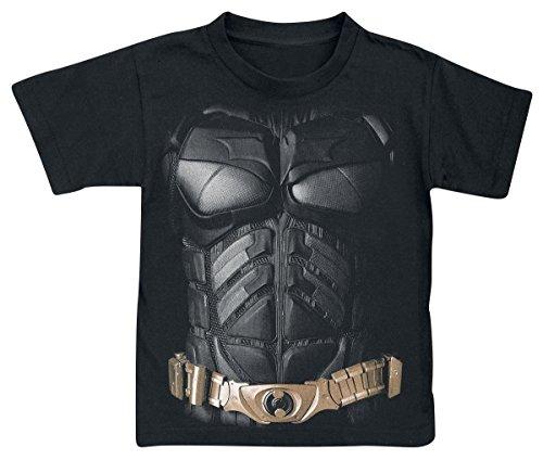 Batman Costume Camiseta de Niño/a Negro L