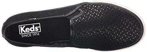 Keds Damen Double Decker Sneakers Schwarz (Black)