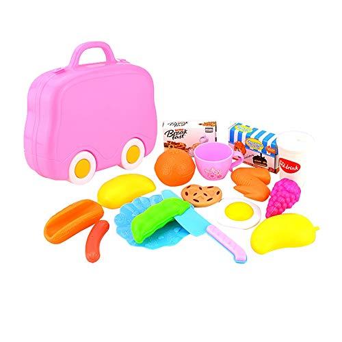 15 STÜCKE Kinder Pretend Rollenspiel Küche Obst Gemüse Lebensmittel Spielzeug Schneiden Set Geschenk YunYoud katalog kinderspielzeug kinderspielzeug empfehlung Kinder