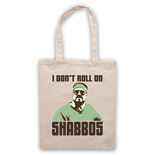 Inspiriert durch Big Lebowski I Don't Roll On Shabbos Inoffiziell Umhangetaschen Naturlich