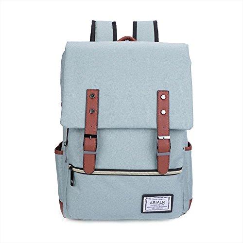 Imagen de rucksack  oxford tela impermeable 18 pulgadas portátil  para hombres y mujeres , green