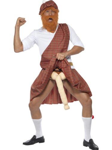 Generique Schotten-Kostüm für Herren ()