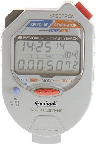 Preisvergleich Produktbild HANHART Stoppuhr SPECTRON elektronisch,  LCD-Anzeige