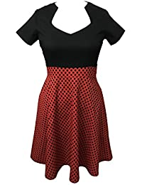 Valin M121618D Robe de bal Vintage pin-up 50's Rockabilly robe de soirée cocktail,XL-XXXXXL