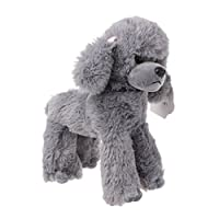 Lunji Poodle Soft Toy Stuffed Plush Dogs Toy Gift Doll (Grey)