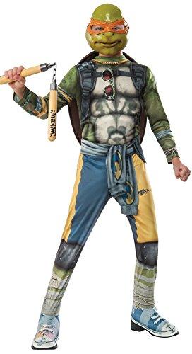 Teenage Mutant Ninja Turtles 2 Michelangelo Costume Child Large
