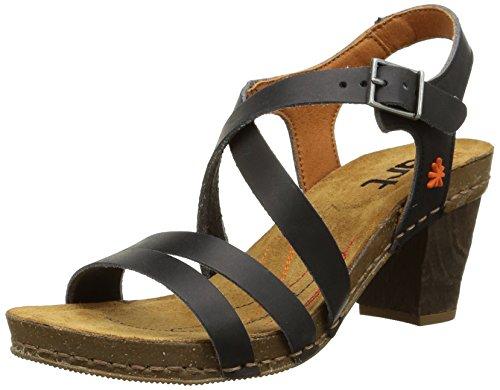 ART  0146 0146 Mojave I Meet  Sandali con cinturino alla caviglia Donna, Nero (Black), 37 EU