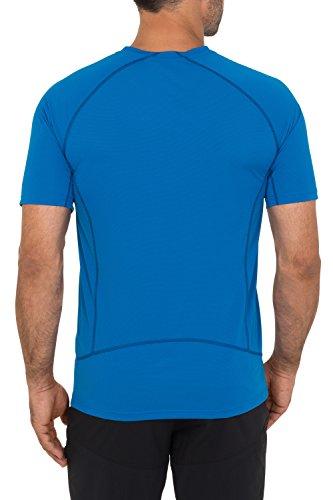 Vaude - Maglietta da uomo, modello: Roseg - Teal Bleu - Bleu