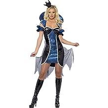 Smiffy's - Disfraz de reina malvada adultos, talla 32 - 34 (26053XS)