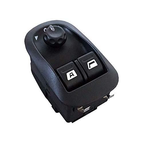 Bouton de rétroviseur électrique Power Window Switch Master 6554WA pour Peugeot Fiat Citroen