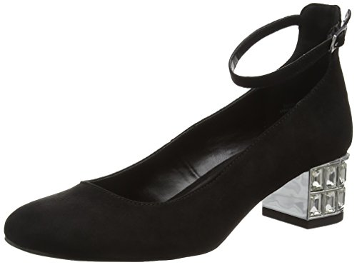 New Look - Splendid, Scarpe col tacco Donna Nero (Black (01/Black))