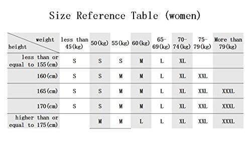 shane&shaina Kurzarm kurze abschnitt kittel ärzte krankenschwestern bekleidung arbeitskleidung arbeit (damen, XL) - 3