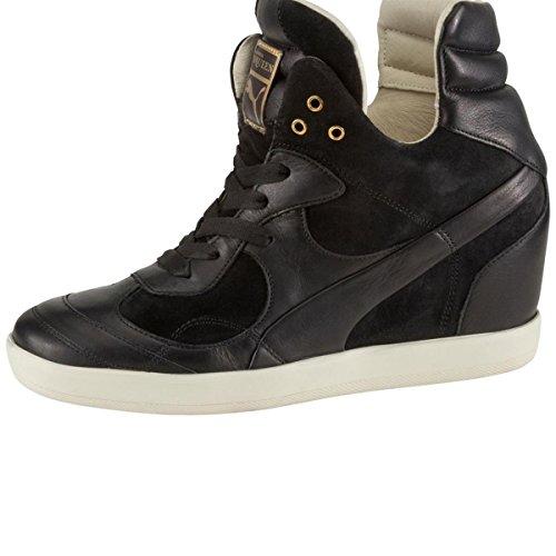 Puma Alexander McQueen AMQ for PUMA Ofeya Wedge schwarz Damen Sneaker Schuhe Leder NEU & OVP Gr. 40