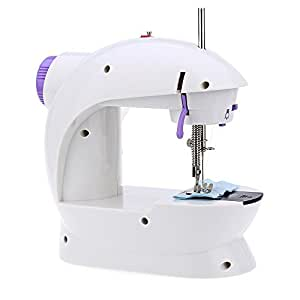 Isabella Mini Desktop Multi Functional Electric Sewing Machine Household Double Stitches Tools