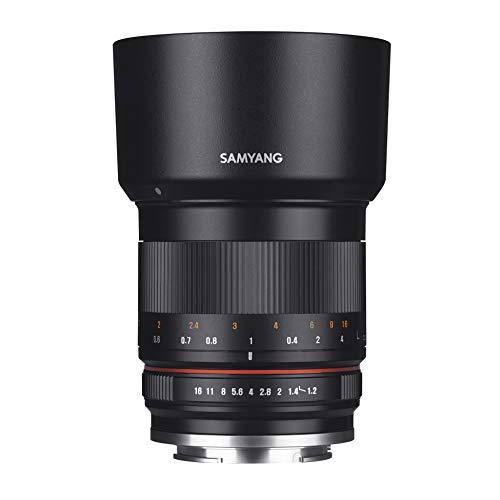 Samyang CSC-Mirrorless - Objetivo fotográfico para Sony E (50mm F1.2 AS UMC CS), negro