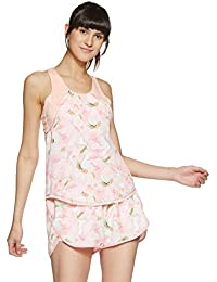 Just F by Jacqueline Fernandez Women's Floral Regular Fit Vest Top