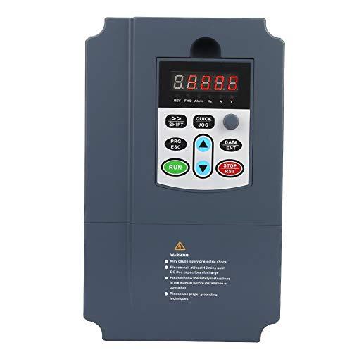 Frequenzumrichter VFD, Frequenzumrichter 3Phase 380VAC 7.5KW, Hochleistungs-Frequenzumrichter VFD Vector Controller, Drehzahlregler für Motorantrieb, für 3-Phasen-Motor - 3-phasen-motor
