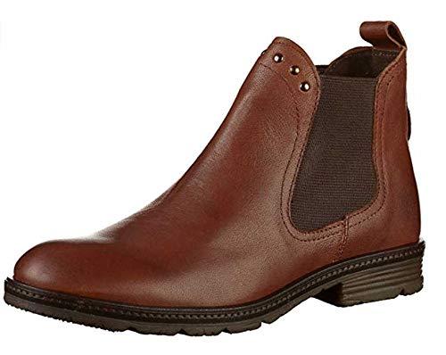 camel active Damen Aged 78 Chelsea Boots, Braun (Cognac 2), 39 EU