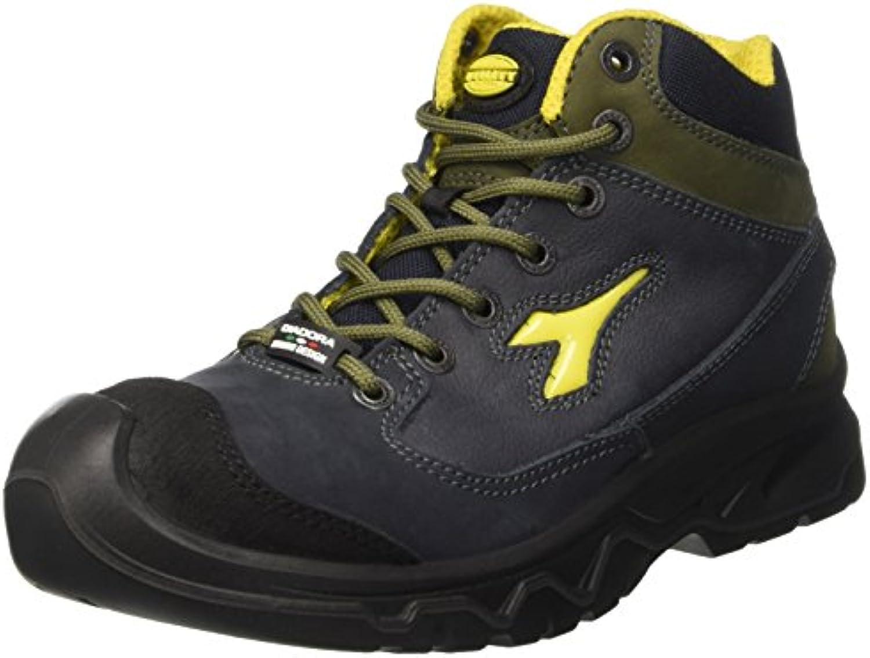 Diadora Continental Ii Ii Continental High S3, Chaussures de travail mixte adulte, Bleu (Blu/verde Conifera), 38 EUB00JWNJW6OParent 67ecdb