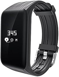 Fitness USB Smart pulsera para hombres mujeres pulsómetro podómetro calorías deporte reloj