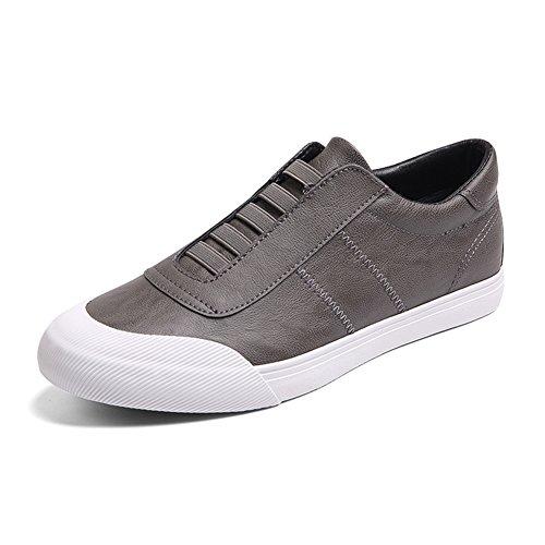YIXINY Chaussures de sport Marée Hommes Chaussures De Plaque Aide Faible Plat Loisirs Paresseux Chaussures De Conduite Printemps ( Couleur : 3 , taille : EU42/UK8.5/CN43 ) 4