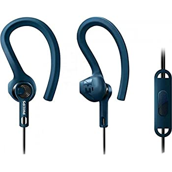 Philips ActionFit SHQ1405 Auricolari a Punta Sottile con Pick-up  Incorporato c570d98644a6