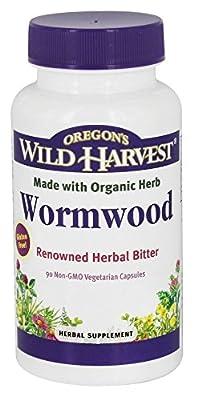 Oregon's Wild Harvest - Wormwood - 90 Vegetarian Capsules