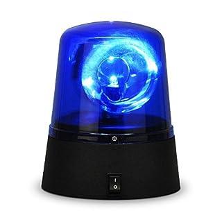 Ardisle drehbar blau LED Polizei Auto Beacon Disco Party DJ Licht Lampe Rave Stroboskop Sirene
