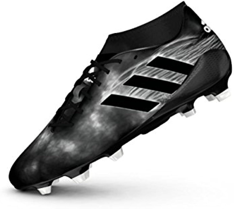 adidas Adizero Malice FG, Botas de Rugby para Hombre, Negro (Negbas/Negbas/Amasol), 41 1/3