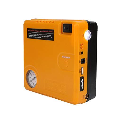 QINAIDI Auto-Notstart-Stromversorgung - Auto-Starthilfe Bis Zu 4,0 L Autobatterieladegerät Und Tragbares Externes 16800 Mah-Ladegerät Für Kraftfahrzeuge Mit Klemme, Taschenlampe