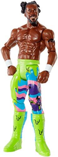 WWE Kofi Kingston MATTEL figura de acción de Lucha Libre Básico Serie #81 81 The New Día