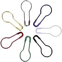 everpert 100pcs/Pack pins calabaza forma Metal Clips marcador de punto de tejer Tag pins