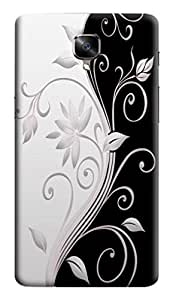 GADGETMATE OnePlus 3T Printed Back Cover(For OnePlus 3T )