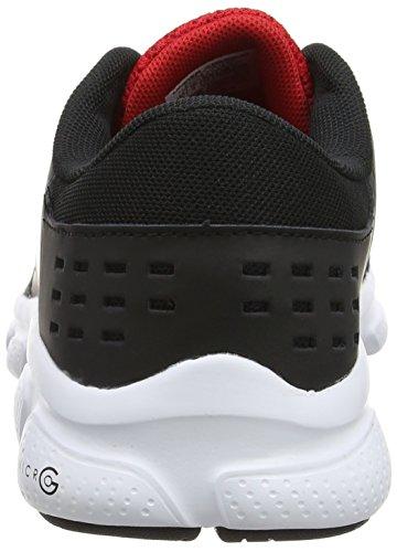 Under Armour Ua Bgs Micro G Rave Rn, Chaussures de Running Compétition Garçon Noir (Black 001)