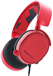 SteelSeries Arctis 3 [Legacy Edition], Gaming-Headset, PC / Mac / PlayStation 4 / Xbox One / Nintendo Switch / Mobilgerät / VR, Farbe solar red
