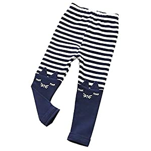 Ears Toddler Kid Boys Hosen Girls Hosen Cartoon Cat Stripe Printed Casual Long Pants Trousers Kind Jungen Casual Long Pants Hosen